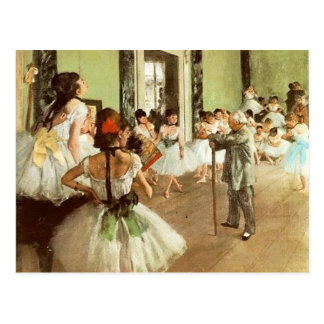 Tanzklasse-Postkarte 2 Postkarten