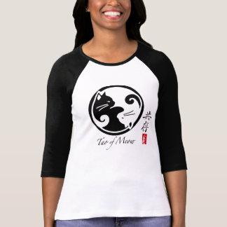 Tao der Raglan-des T - Shirt der Meow-Frauen