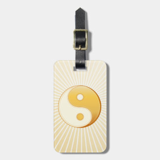 Taoismus-Symbol Gepäckanhänger