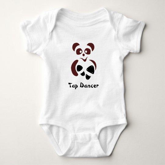 Tapanda© the lovely panda bear baby strampler