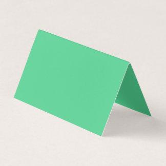 Tapfer großzügige grüne Farbe Visitenkarten