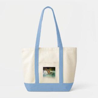Tapfere Wolf-Handtasche Tasche