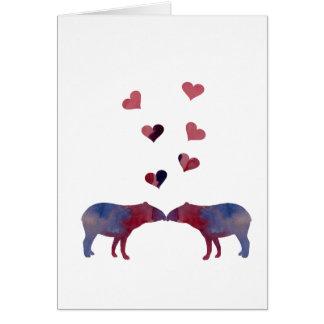 Tapirpaare Karte