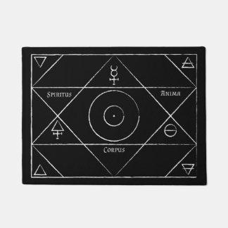 Tapis de porte de corpus d'Anima de Spiritus