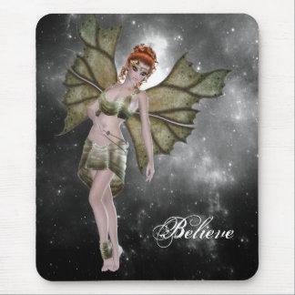 Tapis de souris - Fairie - fée - fée - féerique -