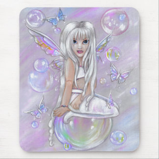 Tapis de souris féerique blanc