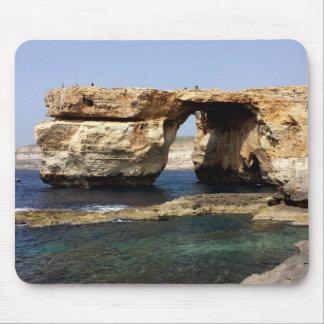 Tapis De Souris Fenêtre azurée, Gozo, Malte