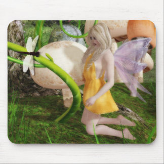 Tapis De Souris Mousepad du jardin 2 de forêt de féerie
