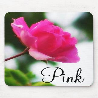 Tapis de souris rose de ~