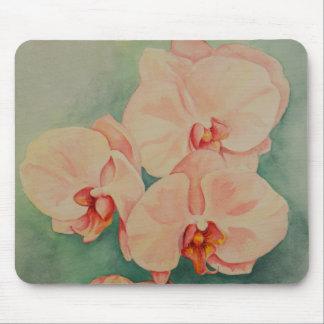 Tapis de souris rose d'orchidée