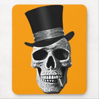 Tapis De Souris Top hat skull