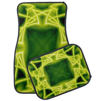 Tapis De Voiture Boîtes vertes