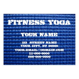 Tapis de yoga carte de visite grand format