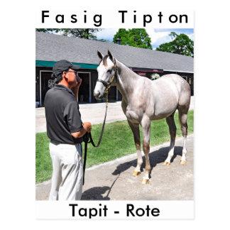 Tapit - auswendig bei Fasig Tipton Postkarte