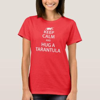 Tarantula behalten den ruhigen T - Shirt (rot)