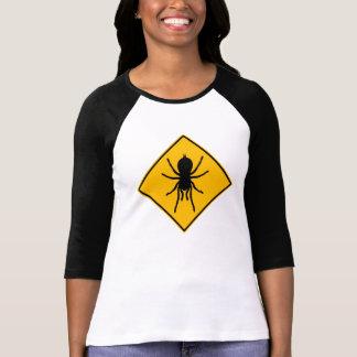 Tarantula-Straßenschild T-Shirt