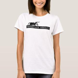 Tarantula-Süchtig-T - Shirt (weiß)