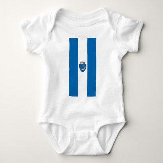 Targu_Mures_Flag Baby Strampler