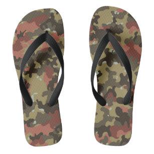 Grüner Rost camouflage herren badesandalen zazzle ch