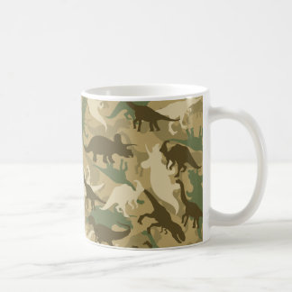 Tarnungs-Dinosaurier-Druck-Kaffee-Tasse Kaffeetasse