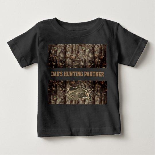 Tarnungs-Enten-Jagd-Stockenten-Shirt Baby T-shirt