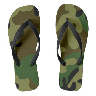 Tarnungs-Fußbekleidung Flip Flops