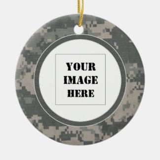 Tarnungs-kundenspezifische Foto-Verzierung Keramik Ornament