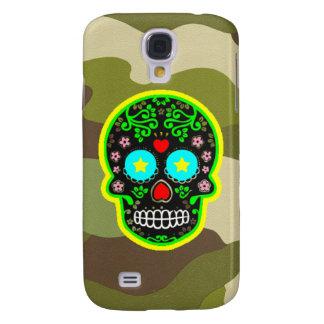 Tarnungs-Mexikanerschädel Samsung-Galaxie S4 Galaxy S4 Hülle