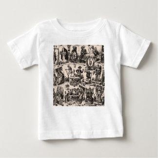 Tarot kardiert Muster Baby T-shirt