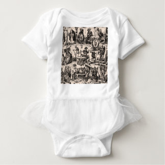 Tarot kardiert Muster Babybody