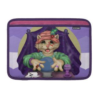 TAROTcat-CARTOON Macbook Luft 11 onz H MacBook Sleeve