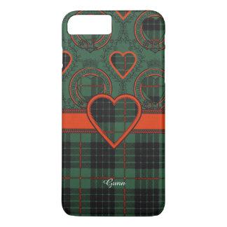 Tartan d'écossais de plaid de clan de Gunn Coque iPhone 7 Plus
