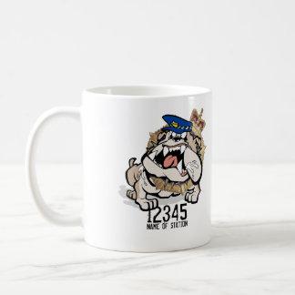 Tas-Polizei-verärgerte Hundekaffee-Tasse Tasse