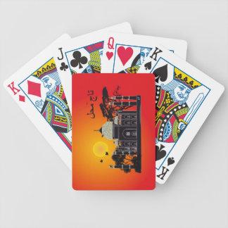Tasch Mahal Indien Spielkarten 1