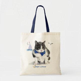 Tasche:  Aufmachung Felix, die Miezekatze, im Tragetasche