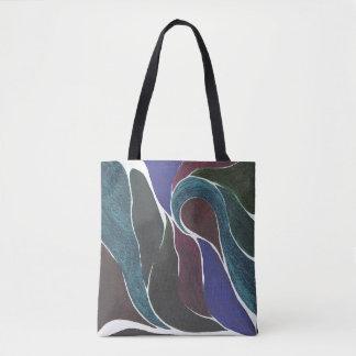Tasche der FarbDrehungs-(dunkle Edelsteine)
