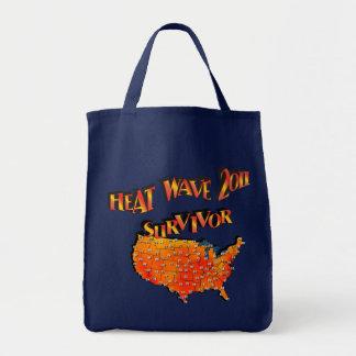 Tasche des Hitzewelle-Überlebend-2011