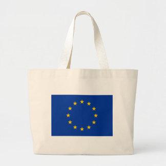 Tasche mit Flagge der europäischen Gewerkschaft