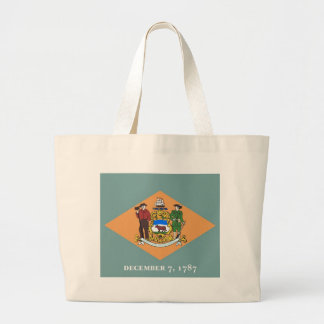 Tasche mit Flagge von Delaware-Staat - USA