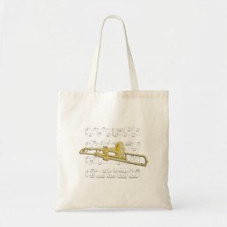 Tasche - Musik des Trombone (Ventil) und des