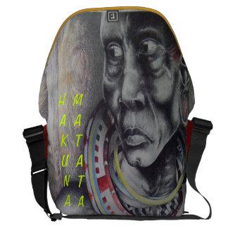 Tasche Schönheits-Damen-Hakuna Matata Rickshaw Kuriertasche