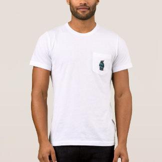 Taschen-T - Shirt der Schädel-Männer
