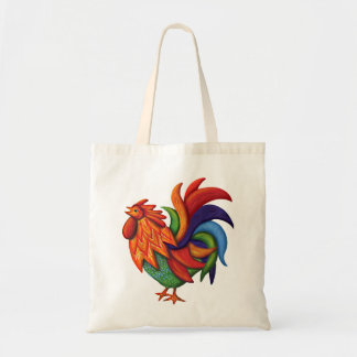 Taschen-Tasche De Colores Rooster Gallo Tragetasche