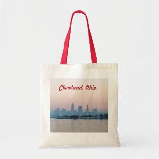 Taschen-Tasche des Rosen-Sonnenuntergang-(Clevelan Tragetasche