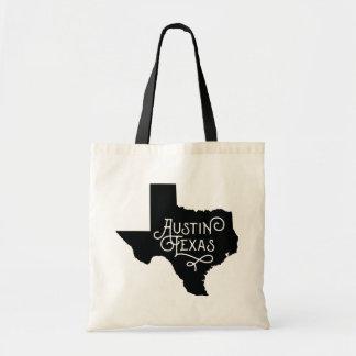 Taschen-Tasche Kunst-Deko-Art-Austins Texas - Tragetasche