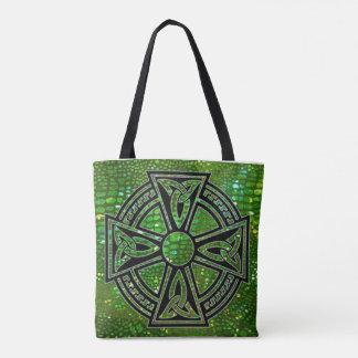 Taschen-Tasche mit keltischem Kreuz Tasche