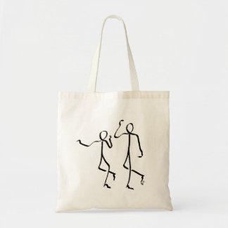 Taschentasche mit zwei Charleston-Tänzern Tragetasche