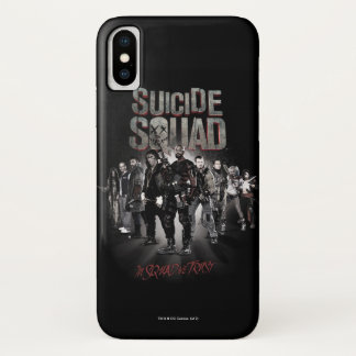 Task Force X der Selbstmord-Gruppen-| Aufstellung iPhone X Hülle