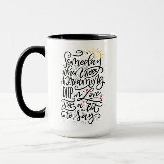 Tasse 1 von 2, eines Tages…