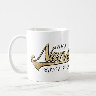 """Tasse """"ALIAS Nana Nanas Grandmom seit… """""""